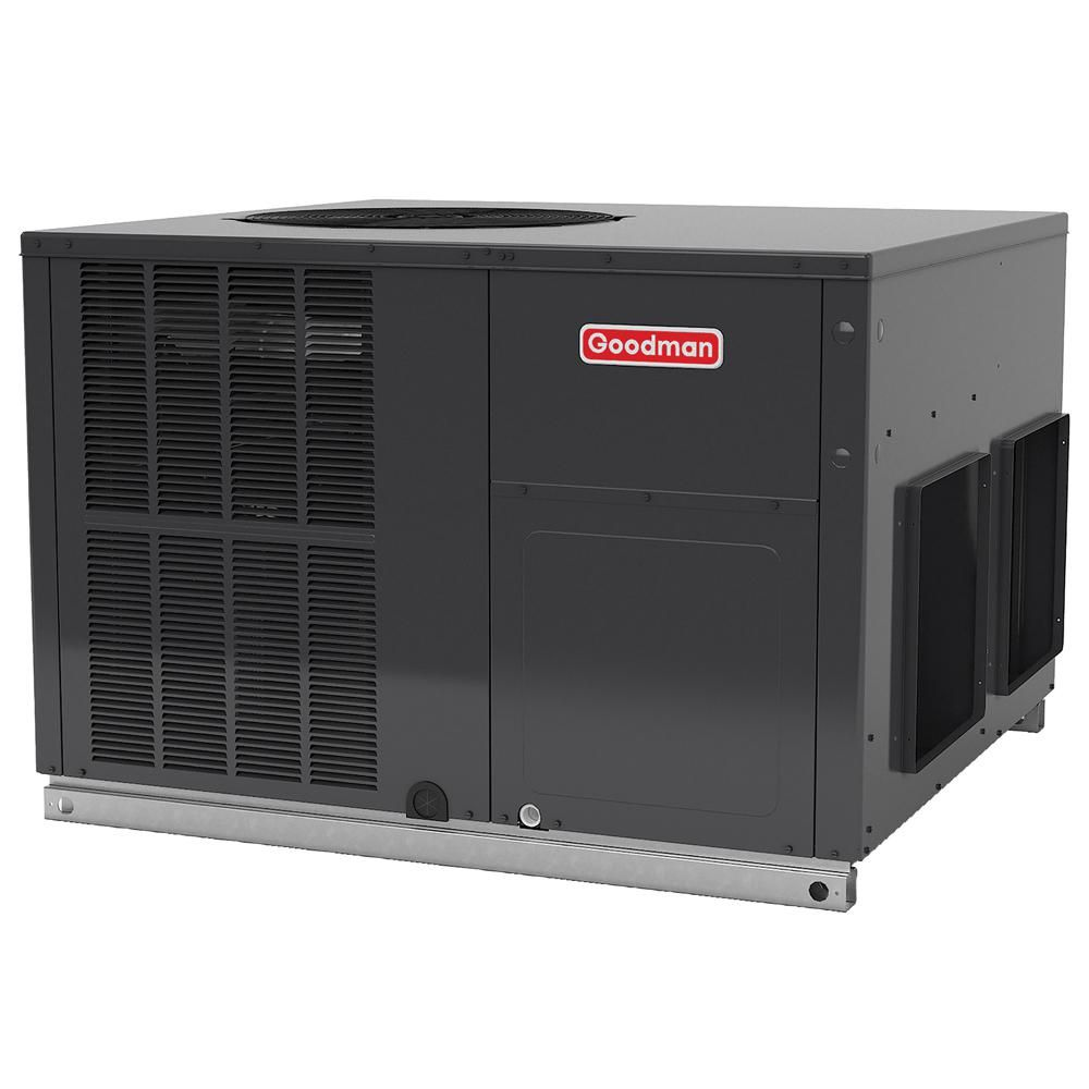 Goodman 3 5 Ton 16 Seer R 410a Horizontal Package Air Conditioner
