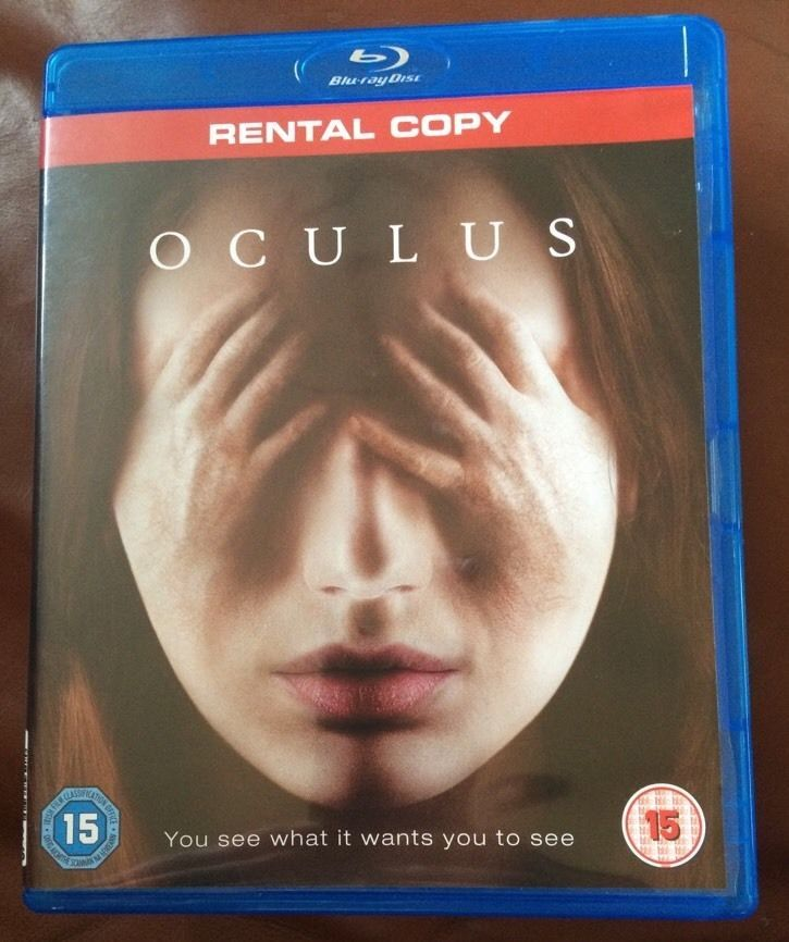 Oculus Blu Ray Very Good Condition Free Postage Scary Horror Movie Horror Movies Scariest Blu Ray Movies Horror Movies