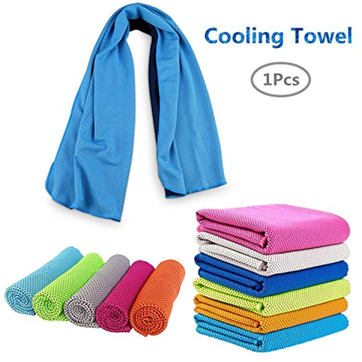 Warmtong 1pcs Cooling Towel Cool Towel For Instant Cooling Relief