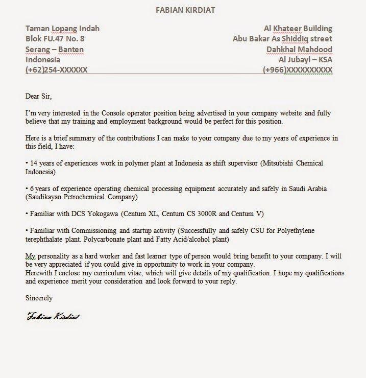Masyarakat Indonesia Jubail Ksa Contoh Cover Letter Bahasa Inggris