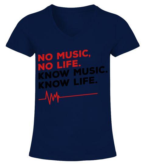 6d606b26 NO MUSIC NO LIFE T-SHIRTS V-neck T-Shirt Woman badminton t shirt design, badminton  t shirts yonex, badminton t shirts online, badminton t shirts india, ...