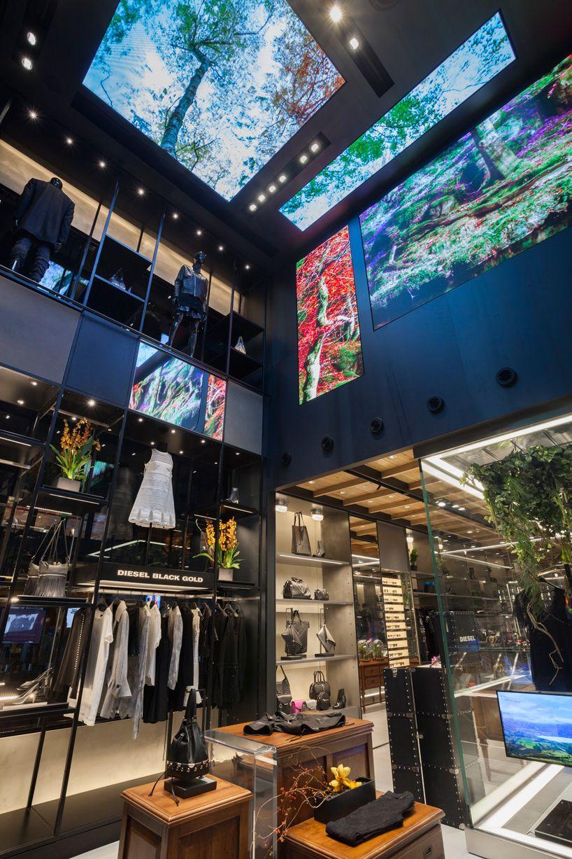 Wonderwall masamichi katayama diesel store madison avenue for Retail interior design firms nyc