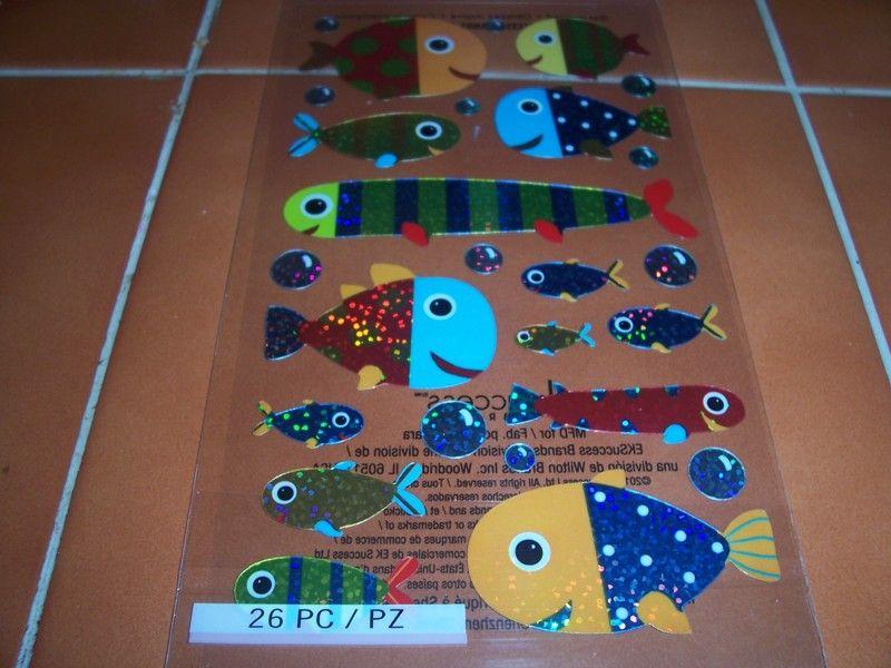 Shiny Fish Stickers