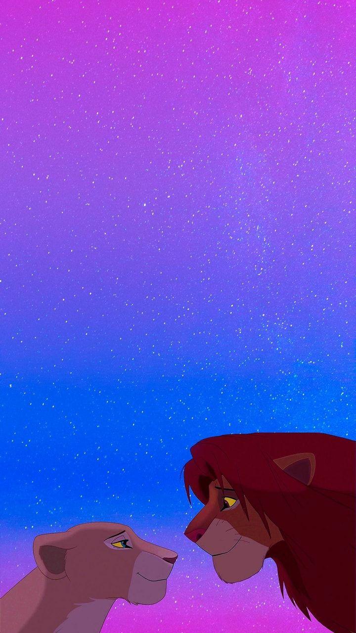 Nala & Simba uploaded by ₊˚✧𝓜𝓪𝓻𝓿𝓮𝓵𝓸𝓾𝓼 𝓖𝓲𝓻𝓵࿐ on We Heart It