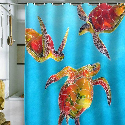 Deny Designs Home Accessories Clara Nilles Tie Dye Sea Turtles