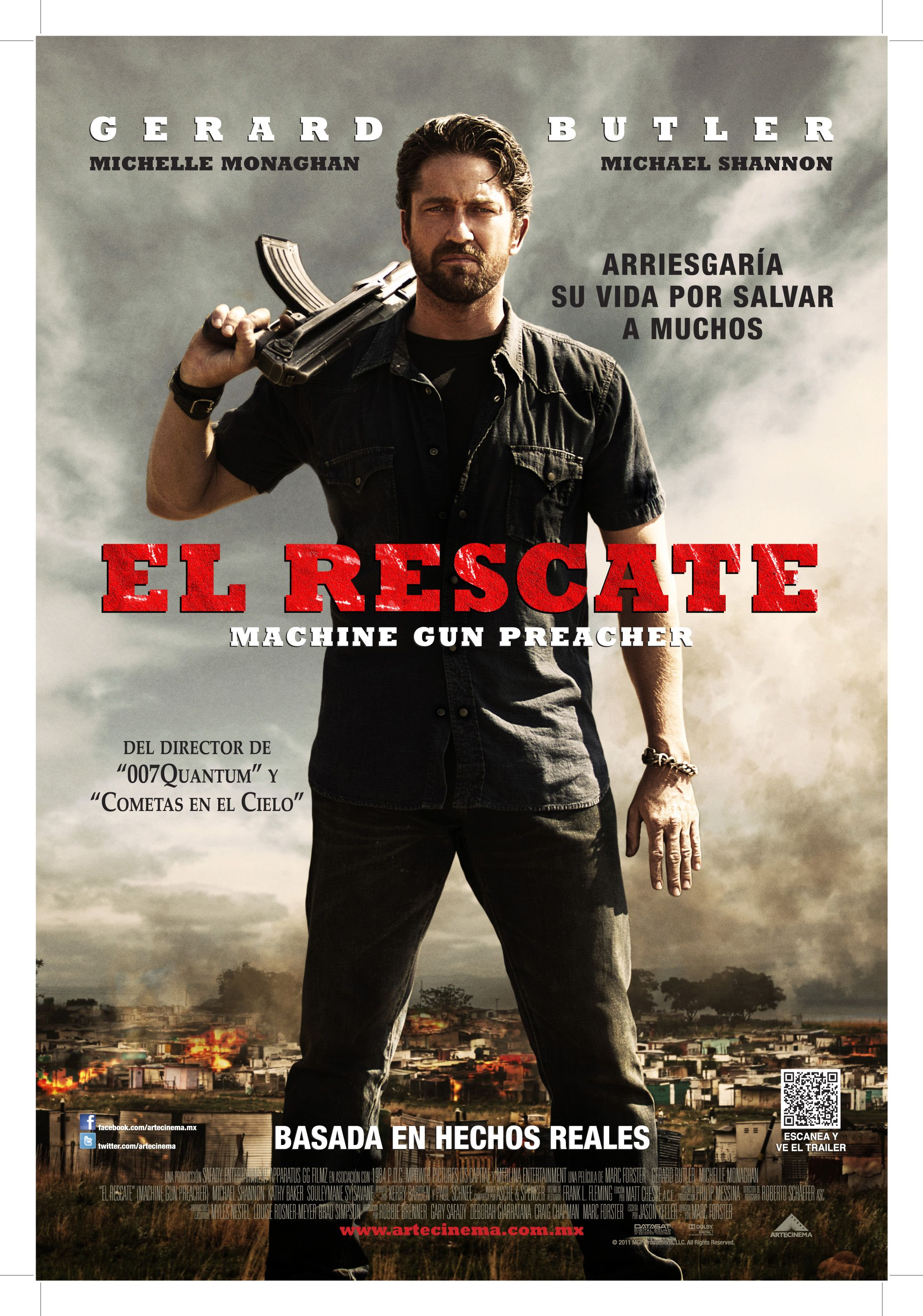 El Rescate Machine Gun Preacher Movie Posters Movie Posters