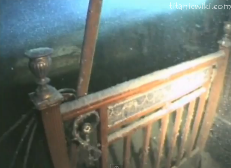 Titanic Grand Staircase Underwater | Pictures of The ...