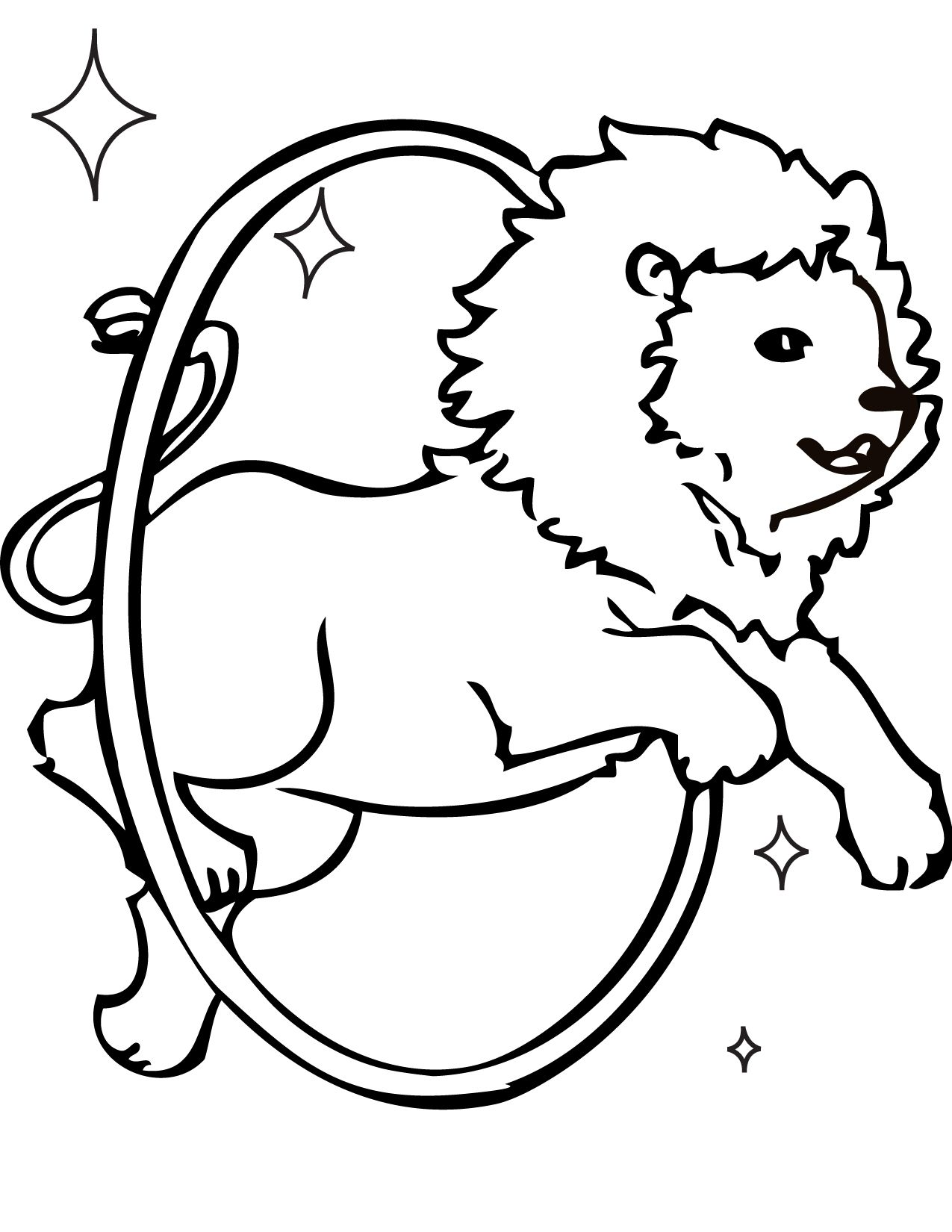 Print The Vintage Circus Coloring Pages Item