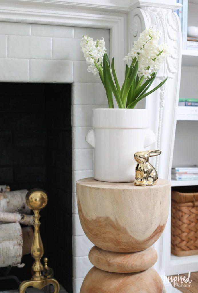 Modern Farmhouse Mantel Decor: 2 Ways