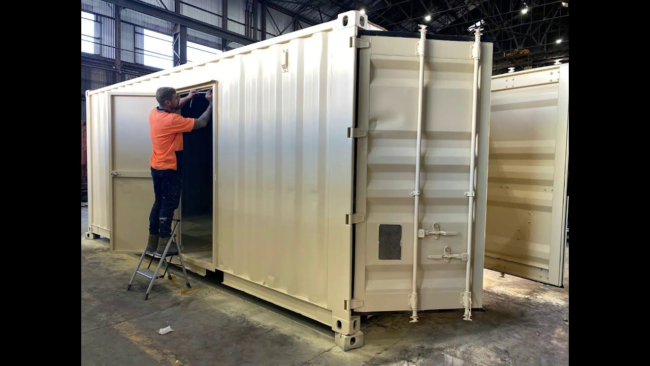 20ft Container Modification 20ft container, Shipping