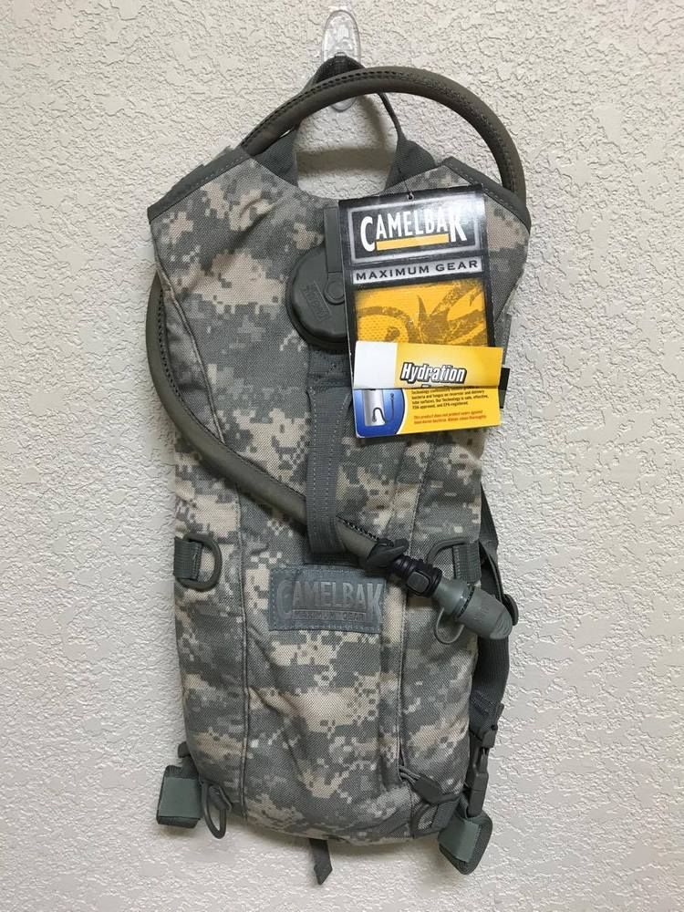 US Military Thermobak 3L Camelbak 100 OZ Hydration System Carrier ACU VGC
