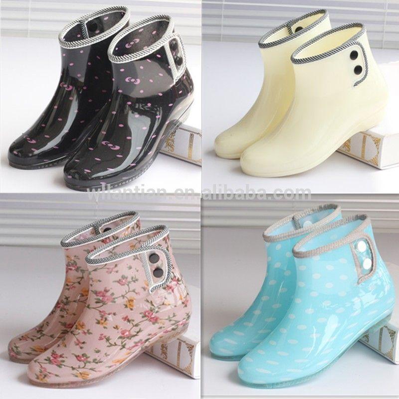 Pvc Gum Boot Women Garden Rain Boots