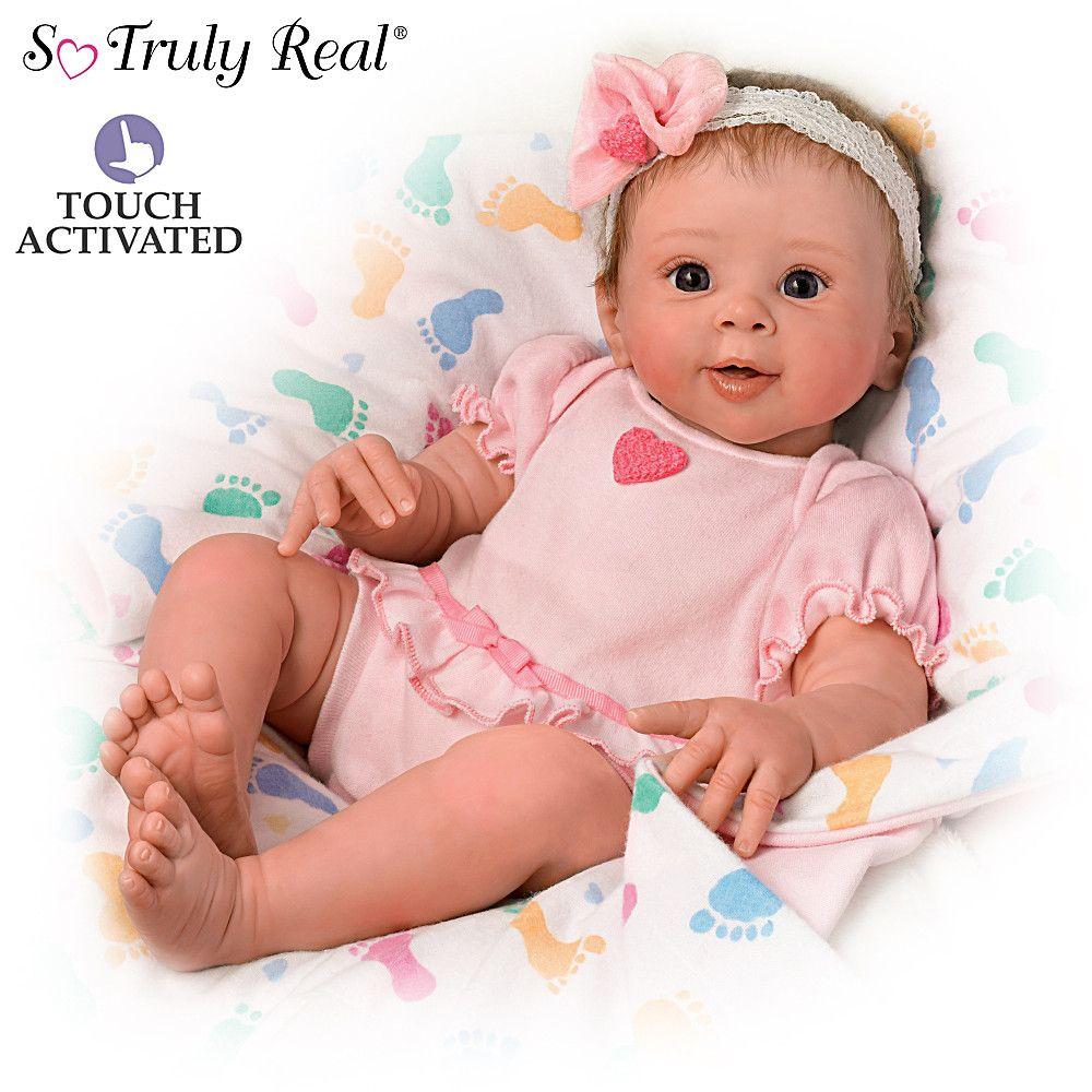 """Tasha Edenholm """"Little Peanut"""" Lifelike Poseable Baby Doll"""