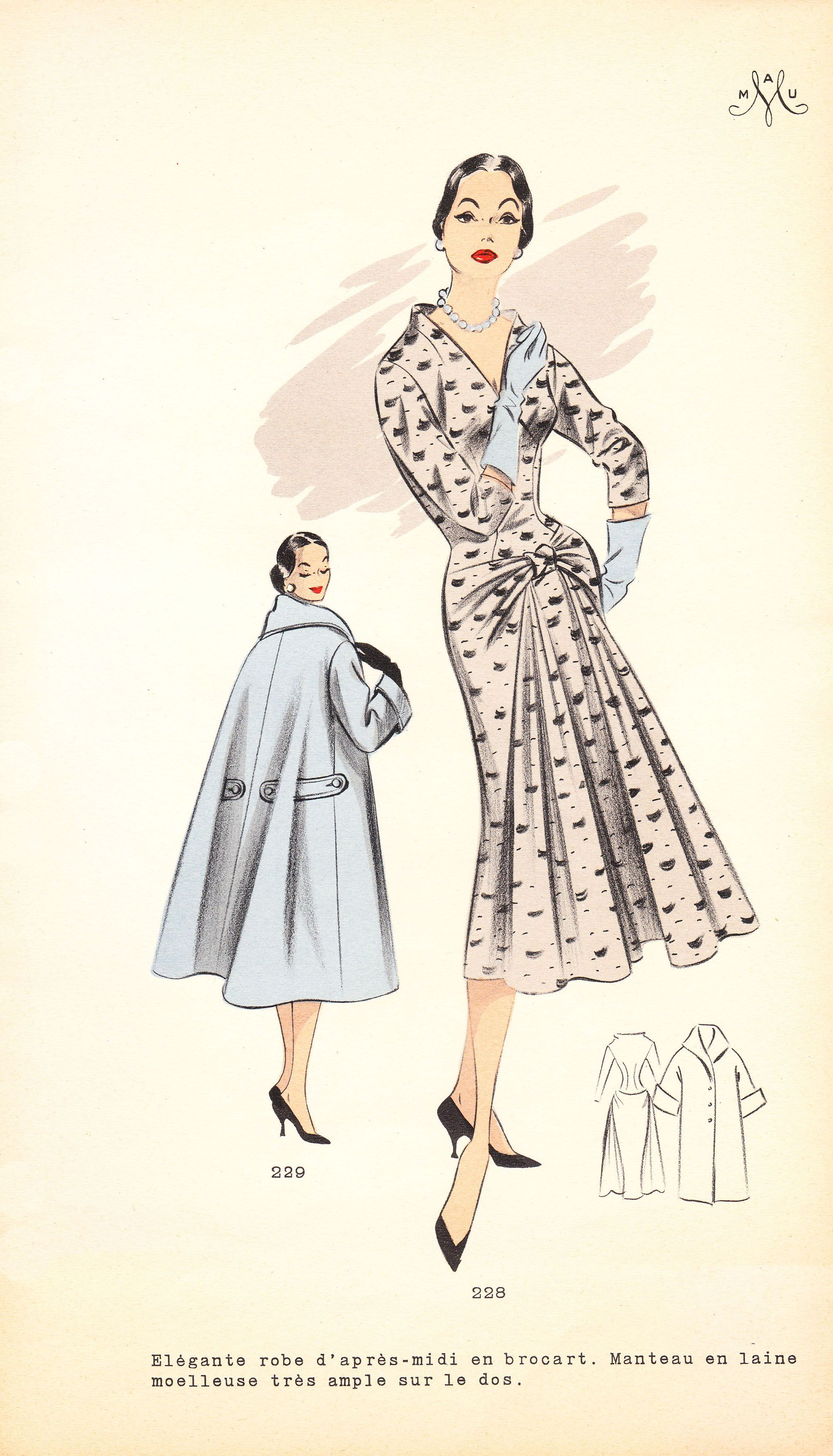 Pdfs of vintage 50s sewing pattern system winter 1957 instant pdfs of vintage 50s sewing pattern system winter 1957 instant download jeuxipadfo Images