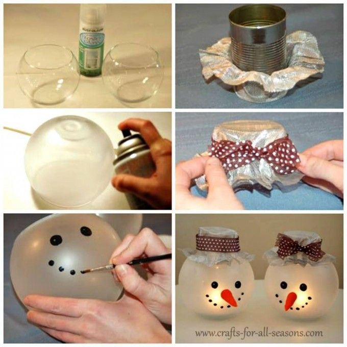 60 Of The Best Christmas Decorating Ideas Homemade Christmas Decorations Snowman And
