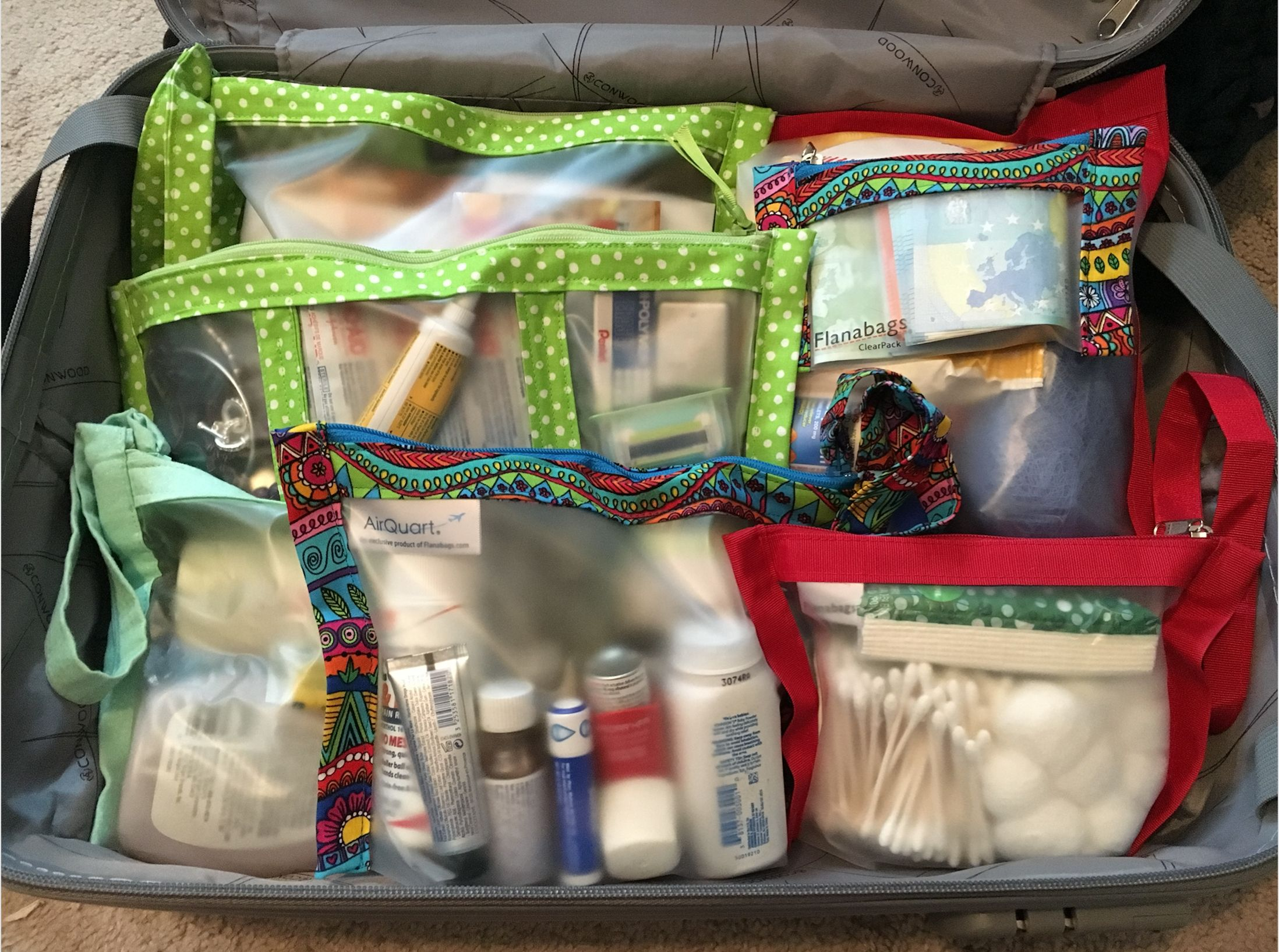 A Flanabags For Every Packing Need Tsa Compliant Liquids Large