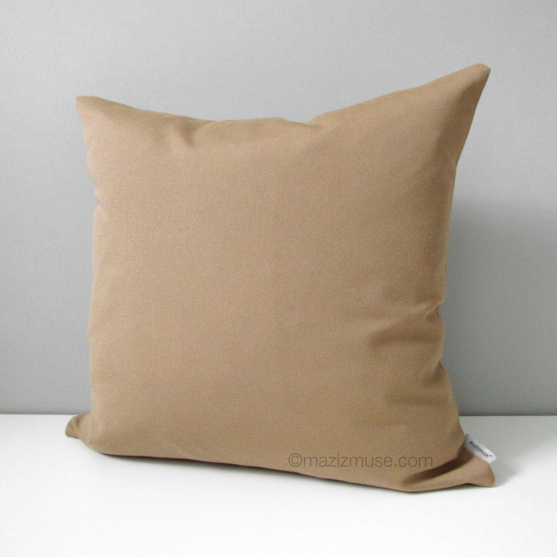 modern sunbrella pillows