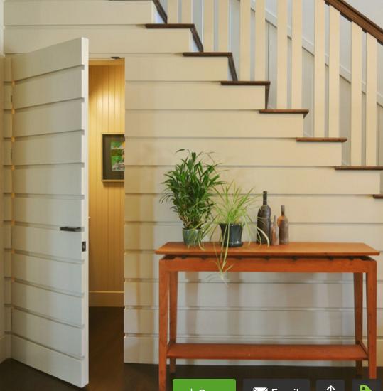60 Unbelievable Under Stairs Storage Space Solutions: Room Under Stairs, Door Under Stairs