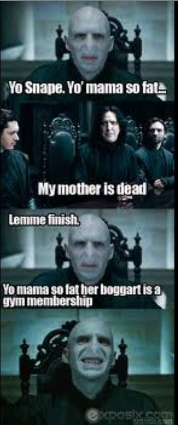 When I Tell This To My Friends They Re Like What S A Boogart Harry Potter Memes Harry Potter Funny Harry Potter Funny Pictures