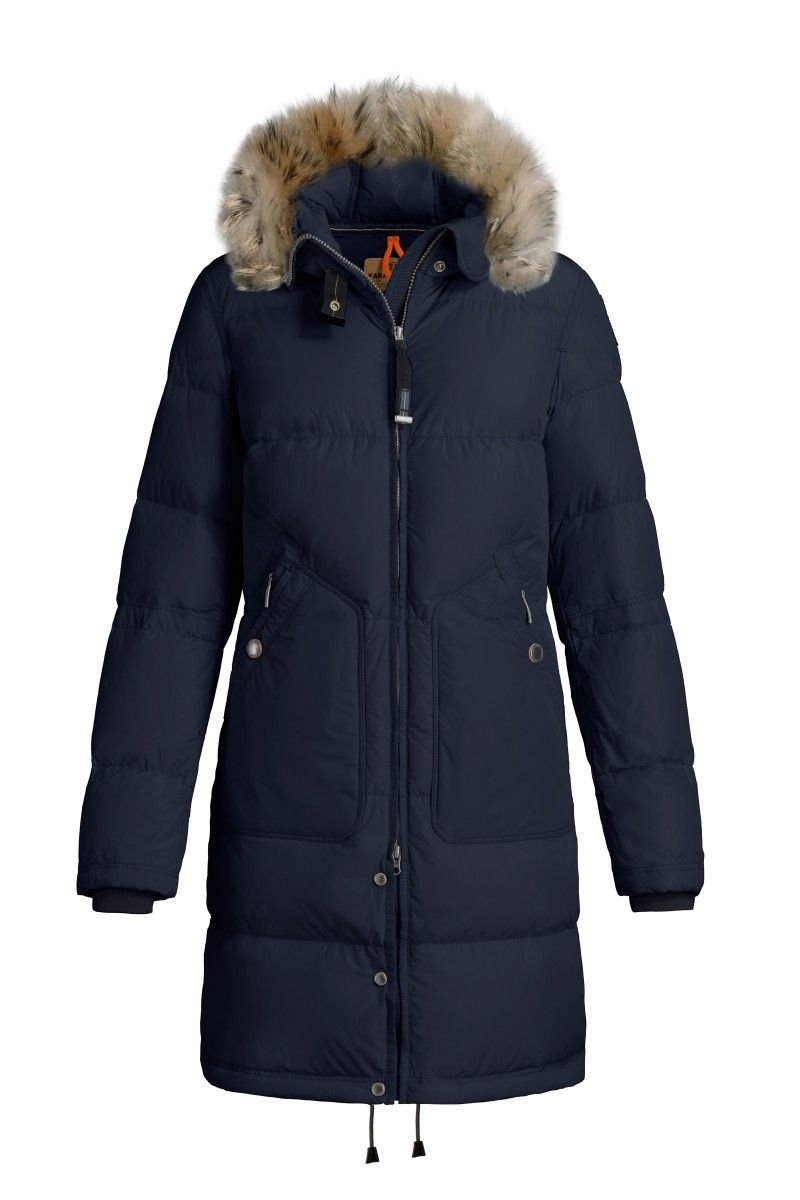 Parajumpers LIGHT LONG BEAR BLEU-NOIR, PARKA Femme