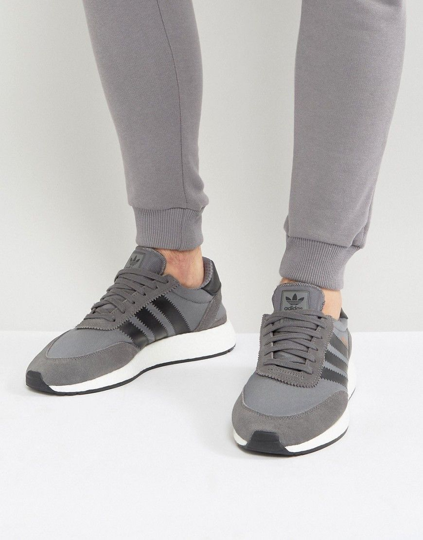 Adidas originali iniki runner impulso scarpe in grigio by9732 gray