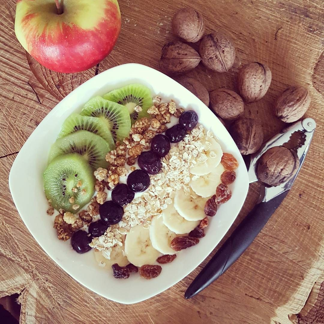 """""""Breakfast today, enjoy your day! #food #healthy #fruit #breakfast #inspiration #happiness #tuesday #motivation #fit #tuesday #happyday #love"""""""