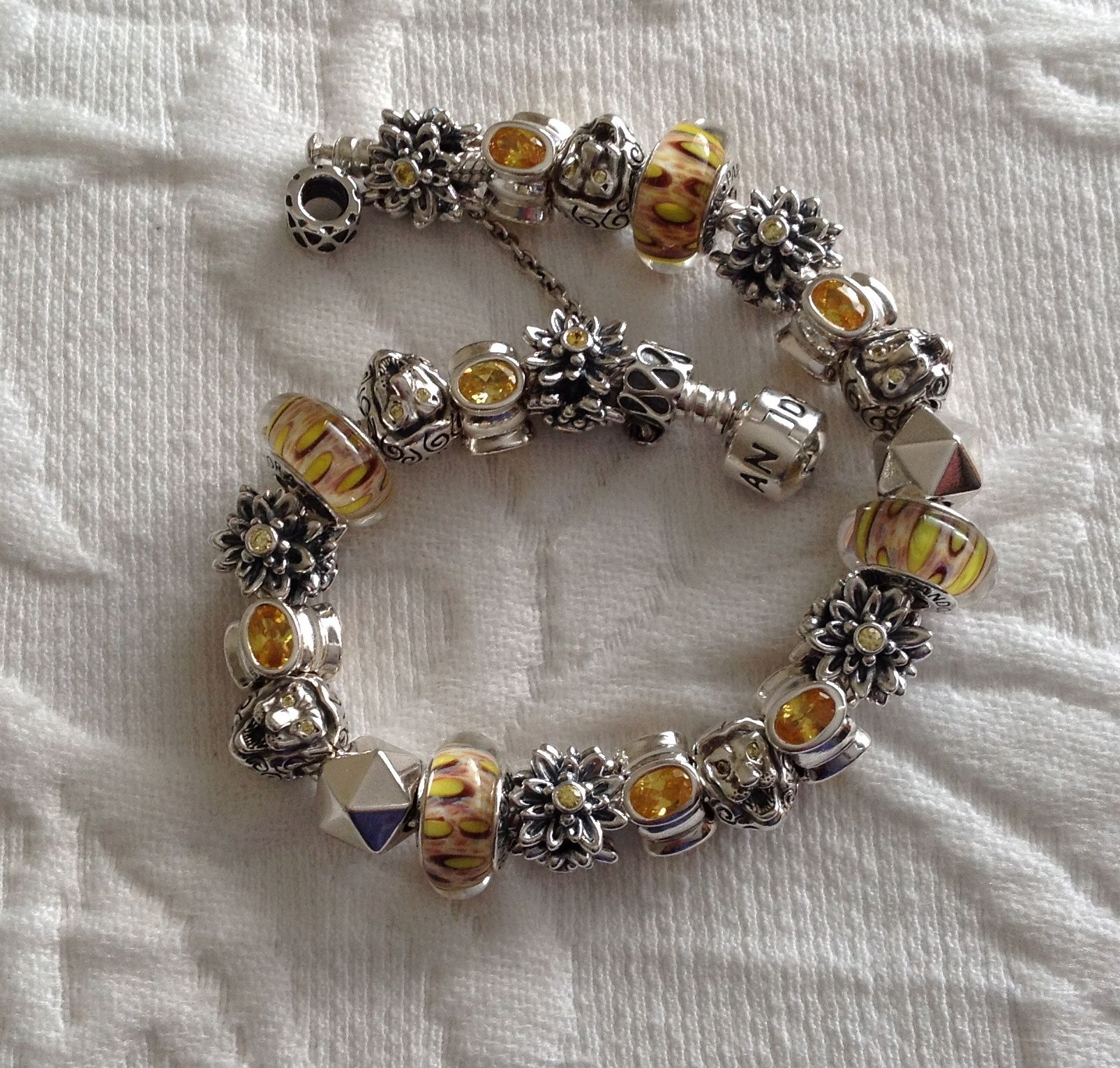 The Pride love the Pandora retired Lion bead…the detail close up