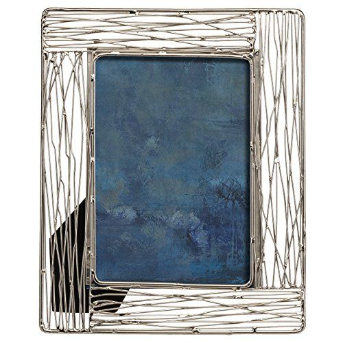 prinz 8x10 broome silver metal frame silver metal metals and bedrooms