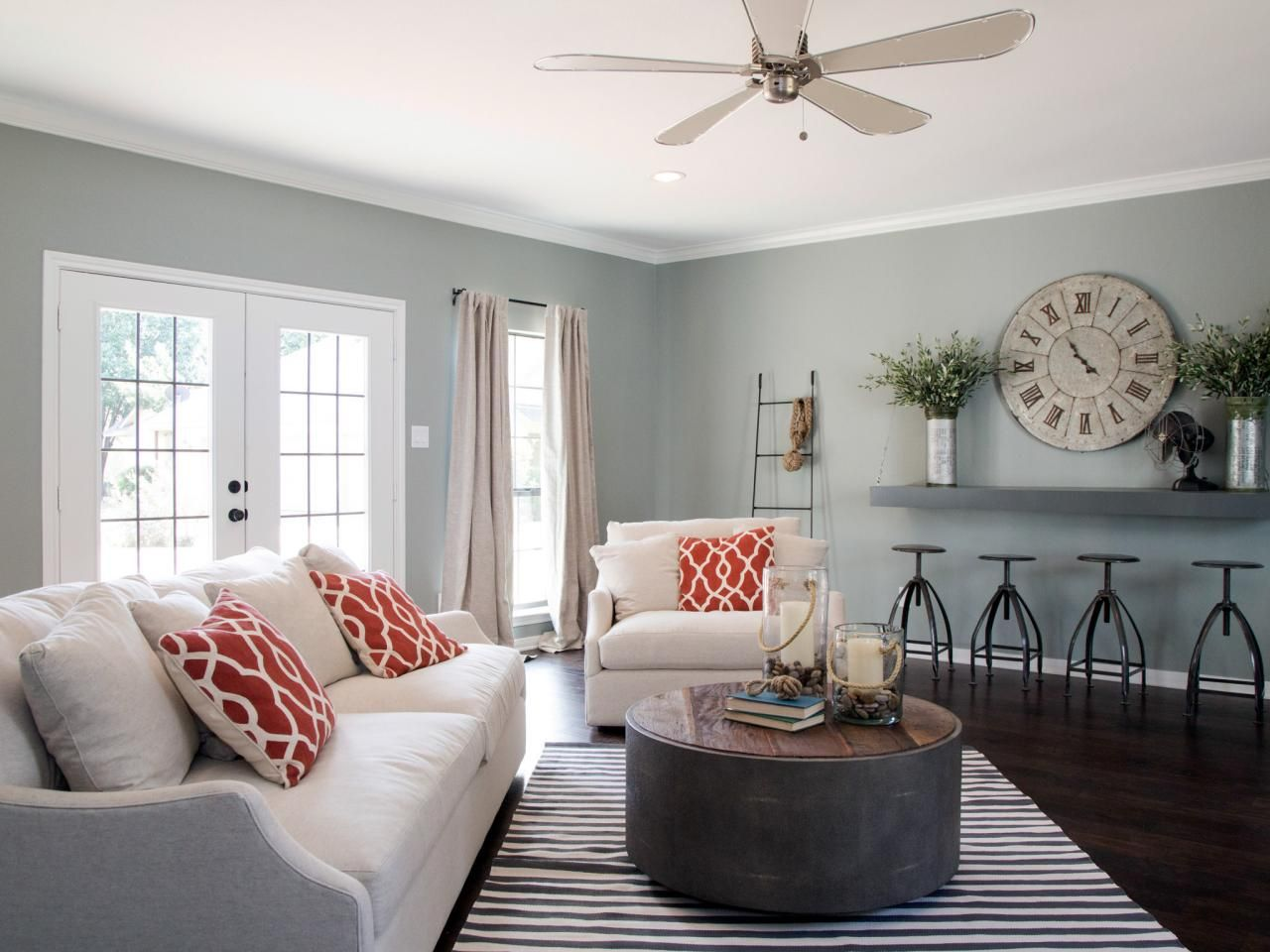 Fixer Upper Yours Mine Ours And A Home On The River Paint Colors For Living Room Living Room Colors Living Room Paint