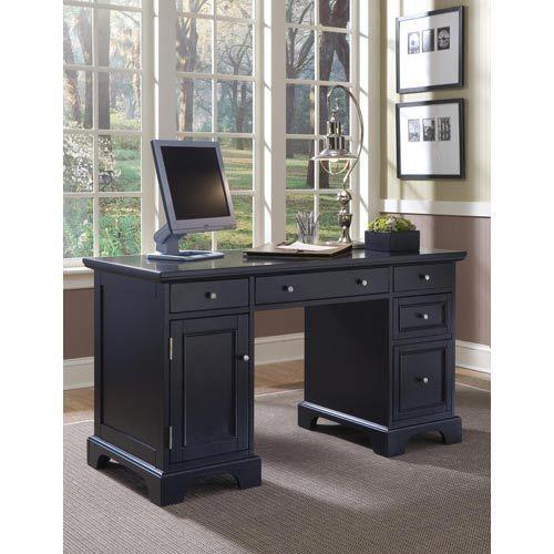 Bedford Pedestal Desk Home Styles Furniture Writing Desks Home Office  Furniture
