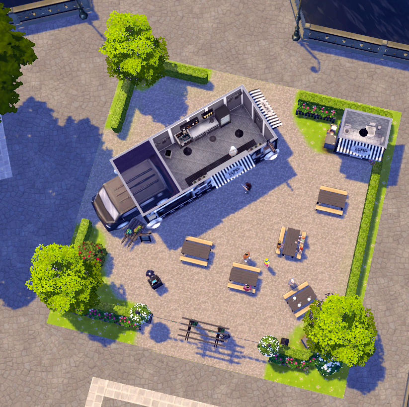 Food Truck Park Ideas Image By The Vendor Sender Gaming Products Gameboy Park