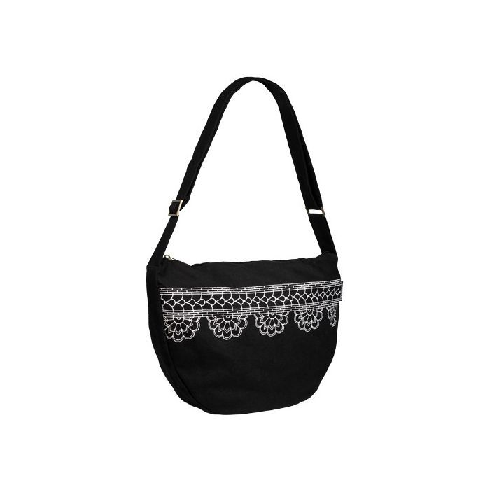 This incredibly cute bag isn't just manufactured cheaply on a machine. It's made by women who were trapped in the human trafficking slave trade of India. Buying this or anything else from Freeset is a great way to support these young ladies in their newfound freedom and help rescue others.