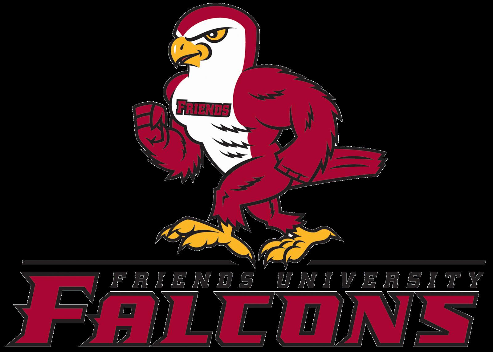 Falcons Friends University Wichita Kansas Div Ii Kansas Collegiate Athletic Conference Falcons Wichita Naia College Logo University Logo Sports Logo