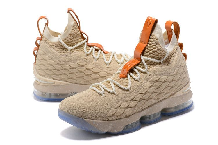 Nike LeBron 15 Ghost XV EP Mens Original BasketBall Shoe Wheat Blue ... b7307415adf4