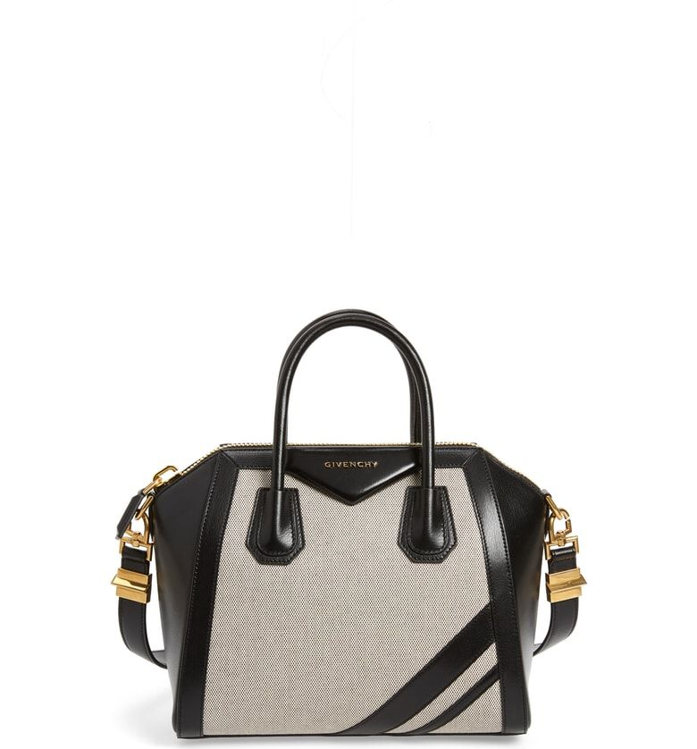 842164d67 Free shipping and returns on Givenchy Small Antigona Canvas & Leather  Satchel at Nordstrom.
