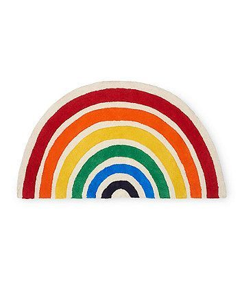 Order A Little Bird Rainbow Rug Today From Mothercare Com Delivery Free On All Uk Orders Over 50 Baby Room Colors Rainbow Rug Nursery Rugs Girl