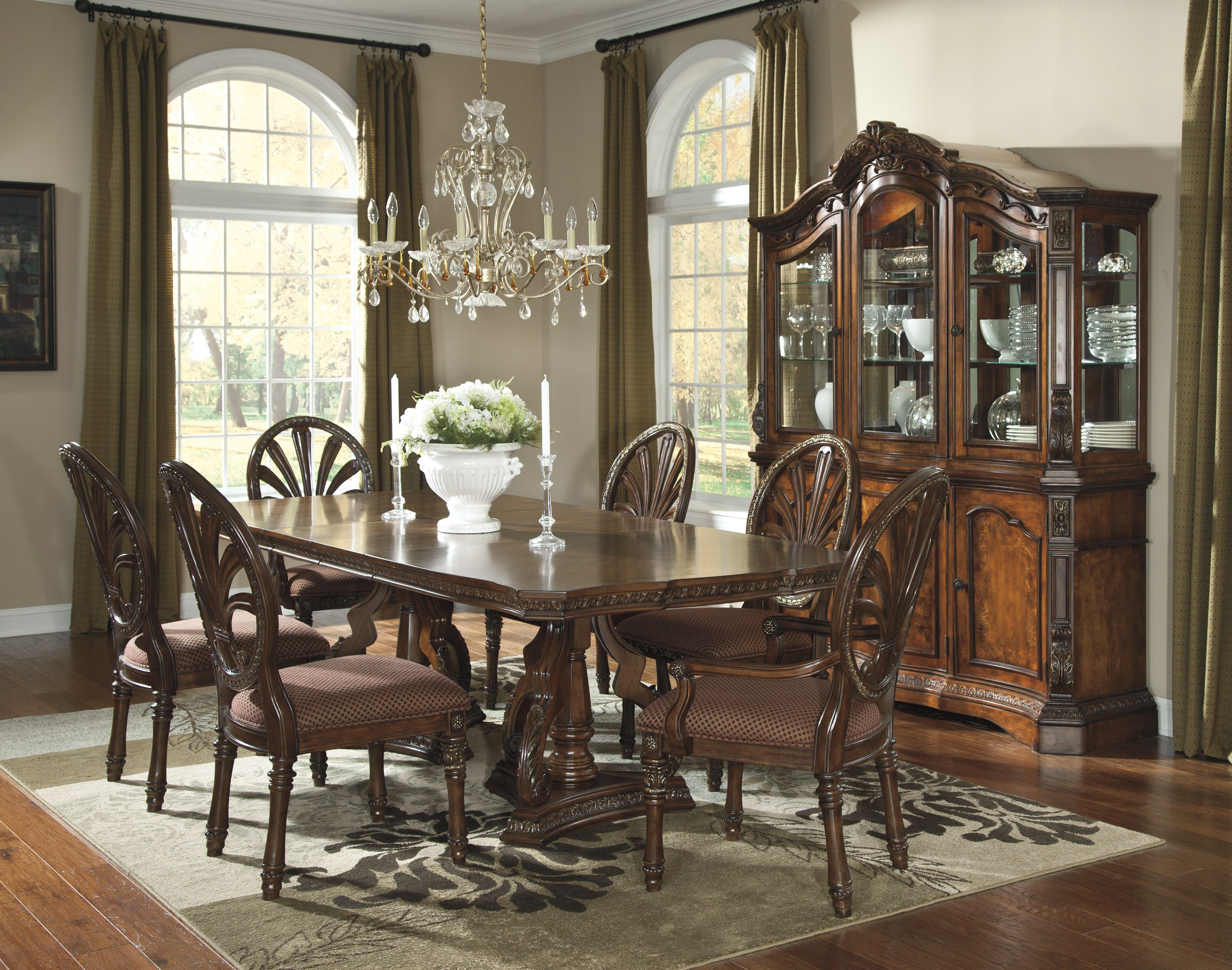 Ashley Formal Dining Room Furniture Casas Decoracao Founde