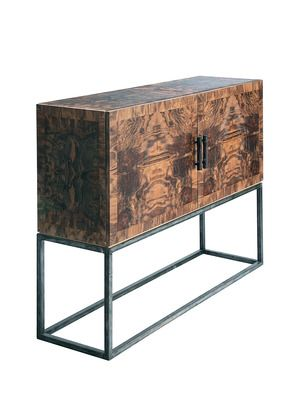 Black Walnut Console By DK Living On Gilt Home