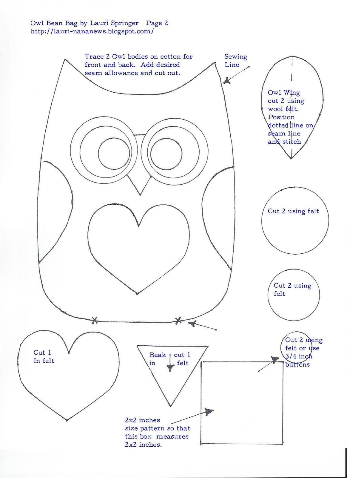 43+ Owl patterns information