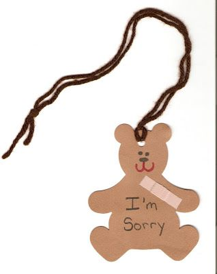 29 I Can Say I M Sorry Lds Nursery Nursery Lesson Ideas