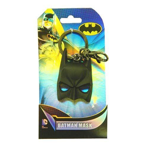 DC Batman Mask Pewter Key Ring