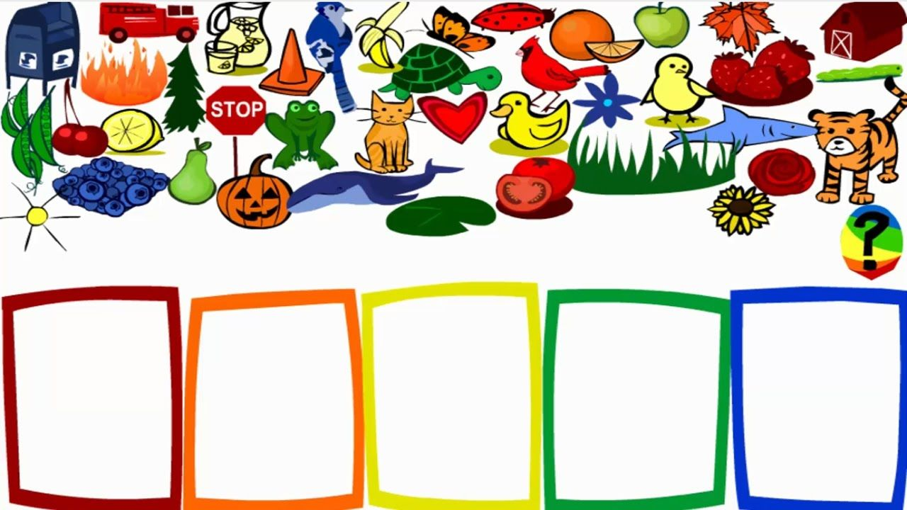 Learn Colors With Preschool And Kindergarten Color Game