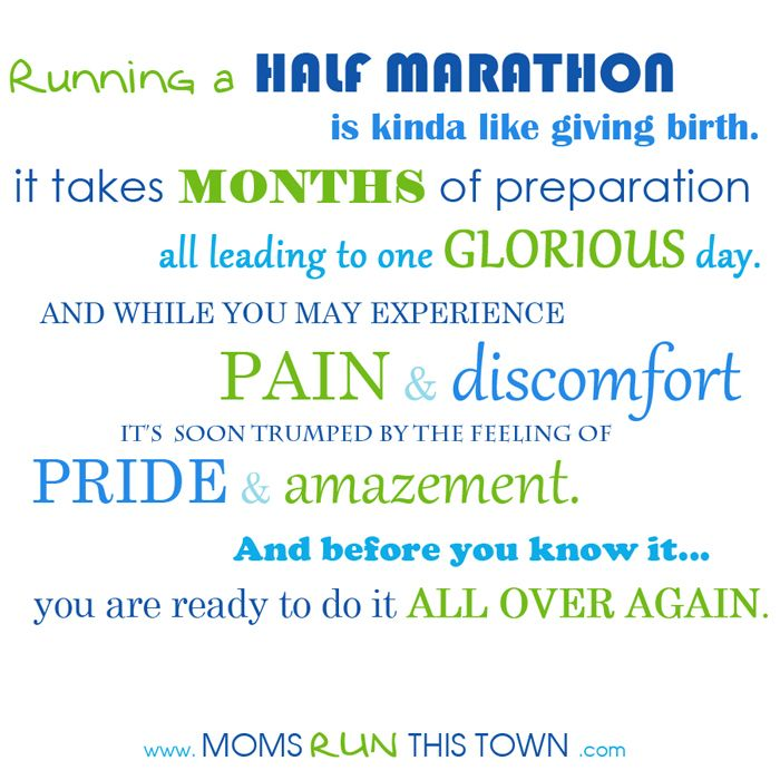 Per request: Can\'t leave out the Half Marathon Mamas - they ...