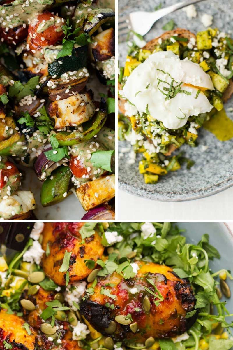 19 Vegetarian Grilling Recipes for Summer | Naturally Ella