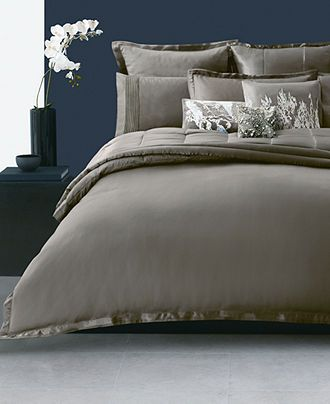 Donna Karan Bedding Modern Classics Truffle Collection Bedding - Donna-karans-modern-classics-bedding-collection