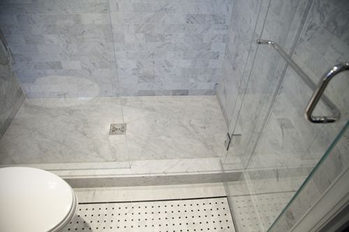 An Exquisitely Flawless Sutton Place Manhattan Residence By Architect Carl Hribar Bathroom Flooring Master Bath Shower Luxury Tile