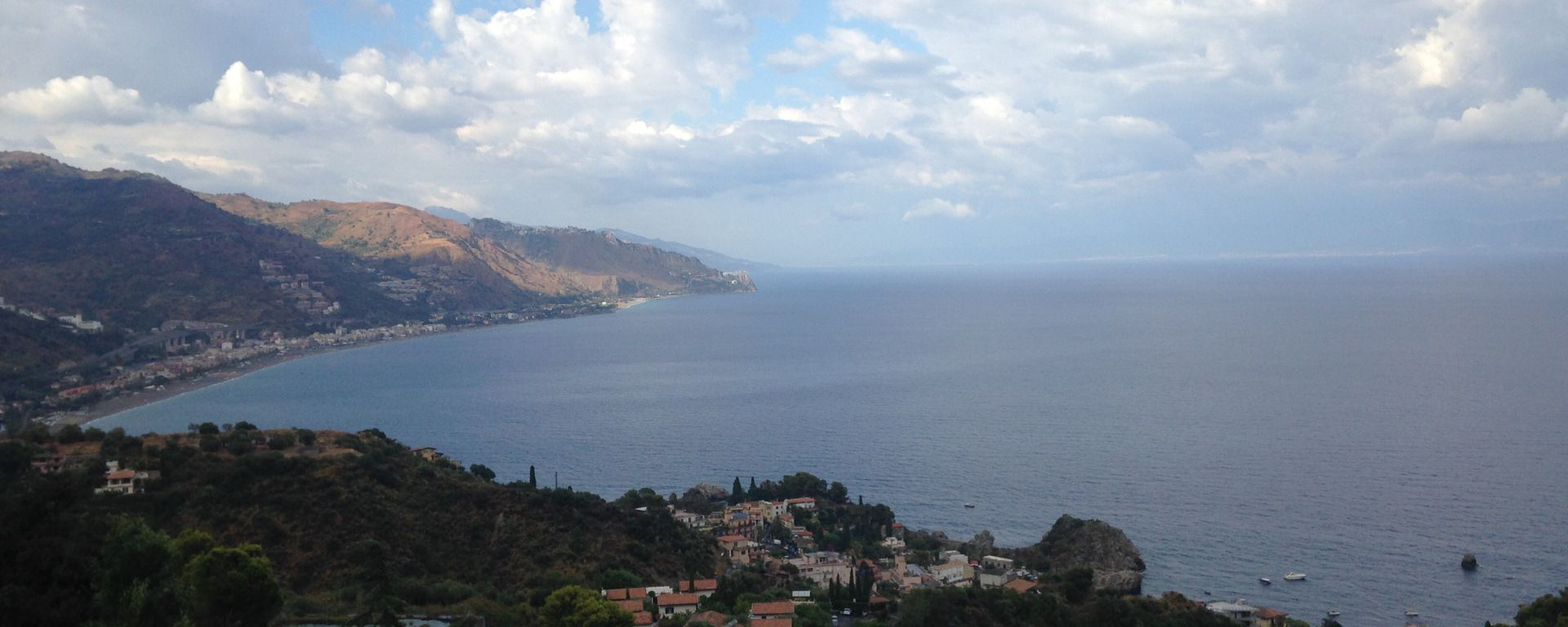 Taormina and Giardini Naxos are well known in Sicily and