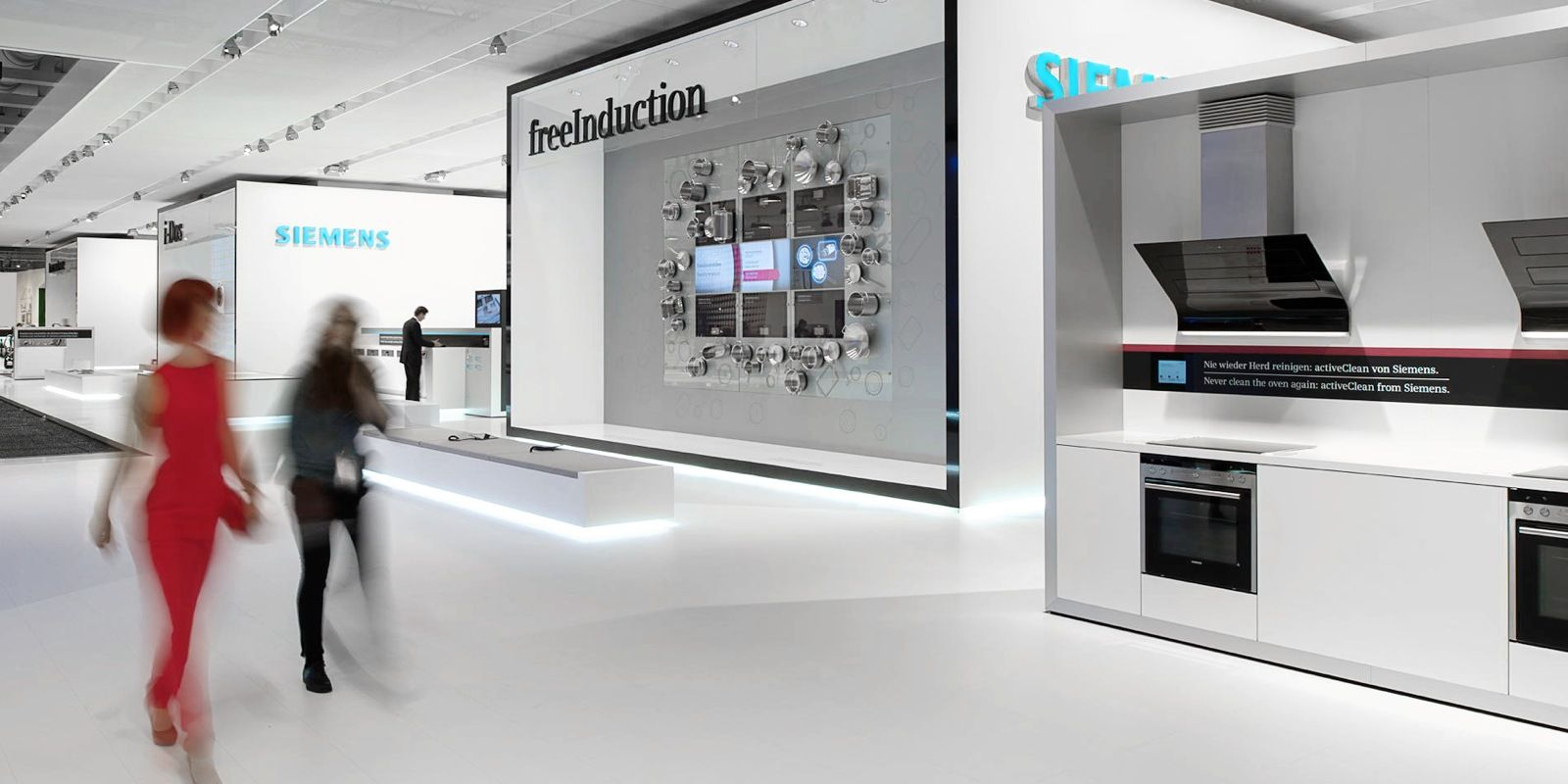 Exhibition Stand Builders Leicester : Siemens home appliances ifa 2012 kms blackspace & schmidhuber