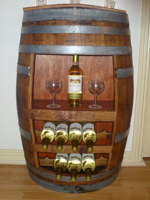 Recycled Wine Barrel Furniture Mbdesire For The Home
