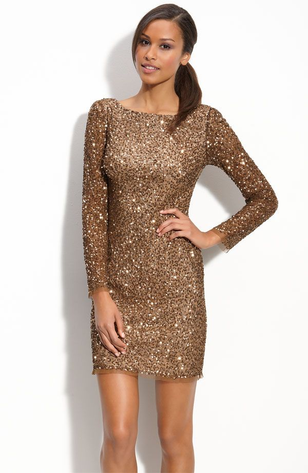1000  images about How to rock a gold sequin dress on Pinterest ...